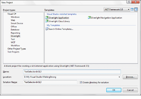 Text Selection In TextBox In Silverlight 3 Application