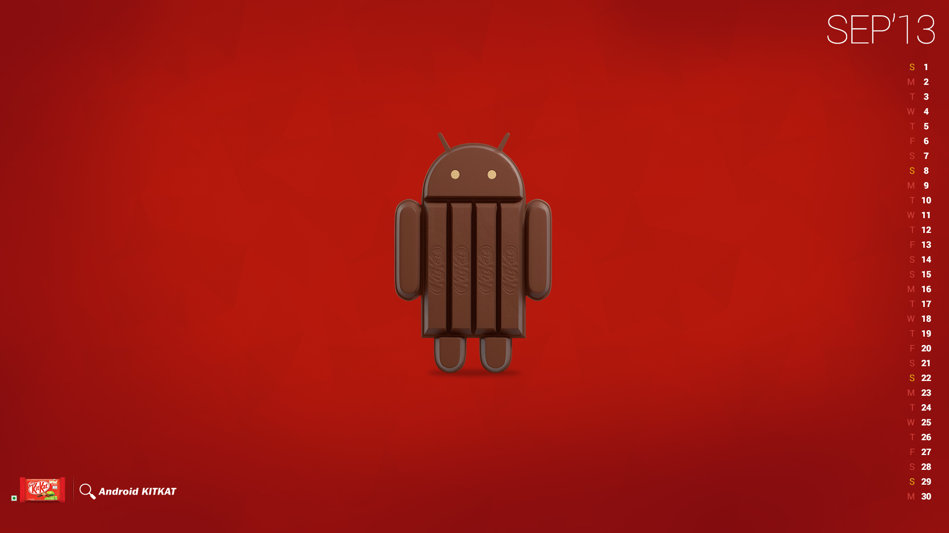 Android 44 kitkat wallpapers method of tried kitkatwall1 voltagebd